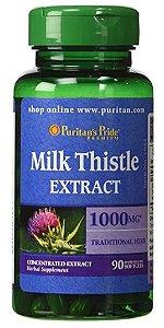 Cardo Mariano 1000mg (Milk Thistle) | 90 Softgels - Puritan's Pride