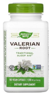 Valeriana 530mg | 180 Cápsulas - Nature's Way