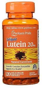 Luteína / Zeaxantina 20mg | 120 Softgels - Puritan's Pride