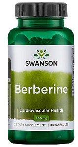 Berberine 400mg | 60 Cápsulas - Swanson