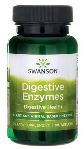 Enzimas Disgestivas (Digestive Enzymes) | 90 Tablets - Swanson
