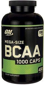 Bcaa 1000mg Mega Size 400 Cápsulas - Optimum Nutrition