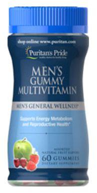 Polivitaminicos para Homens | 60 gomas - Puritan's Pride