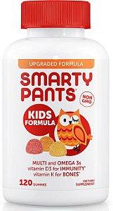 Polivitaminico Kids com Omega 3 + Vitamina D3 + Dha + Epa | 120 gomas - Smarty Pants