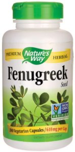 Feno-Grego (Fenugreek) 610mg | 180 Cápsulas - Nature's Way