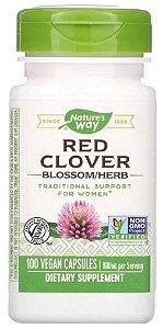 Trevo Vermelho (Red Clover) 400mg | 100 Cápsulas - Nature's Way