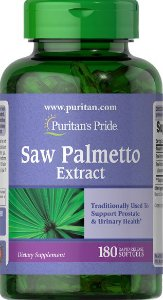 Saw Palmetto Extract | 180 Softgels - Puritan's Pride
