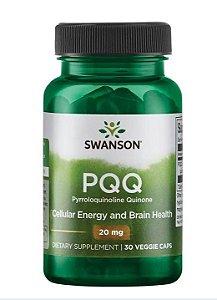 PQQ Pyrroloquinoline Quinone 20mg | 30 Cápsulas - Swanson ULTRA