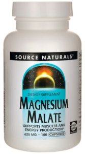 Magnesio Malate (Magnesium Malate) 625mg | 100 Cápsulas - Source Naturals