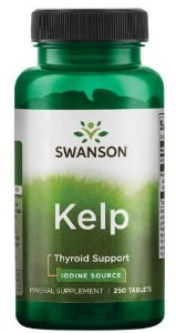 IODO Natural (Kelp) 225mcg | 250 tablets