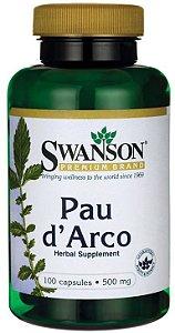 Pau D'Arco 500mg | 100 Cápsulas - Swanson