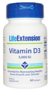 Vitamina D3 5.000Uui | 60 Softgels - Life Extension