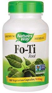 Fo-ti (He-show-wu) 610mg - 1220mg por dose| 100 Cápsulas - Nature's Way