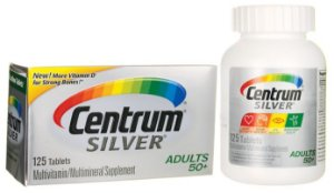 CENTRUM SILVER Adulto 50+ - 125 tablets | CENTRUM