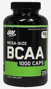 Bcaa 1000mg Mega Size 200 Cápsulas - Optimum Nutrition