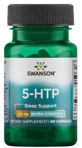 5-HTP (Triptofano) 100mg | 60 Cápsulas - Swanson Ultra