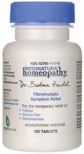 Alívio Temporário da Fibromialgia - Produto Homeopático | 100 tablets - MedNatura Homeopathy