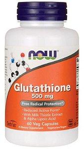 Glutatione 500mg | 60 Cápsulas Now