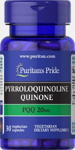PQQ Pyrroloquinoline Quinone 20mg | 30 Cápsulas - Puritan