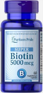 SUPER Biotina 5.000mcg | 60 Softgels - Puritan