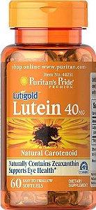 Luteína / Zeaxantina 40mg | 60 Softgels - Puritan's Pride