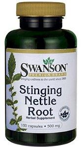 Stinging Nettle Root (Raiz de Urtiga Picante) 500mg | 100 capsulas - Swanson
