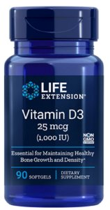 Vitamina D3 1.000 UI | 90 Softgels - LifeExtension