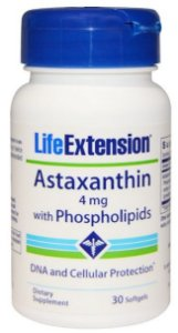 Astaxantina com Fosfolipídios 4mg | 30 Softgels - Life Extension