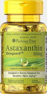 Astaxantina Natural 10mg   30 Cápsulas - Puritan's Pride