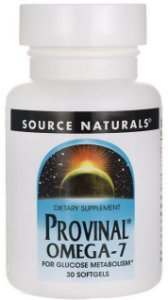 Provinal Ômega-7 Purificado | 30 Softgels - Source Naturals