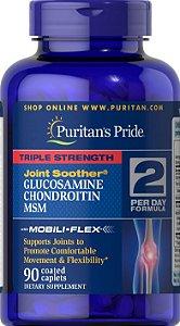 Glucosamina + Condroitina + Msm   90 tablets - Puritan's Pride