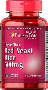 Red Yeast Rice 600mg   120 Cápsulas - Puritan's Pride