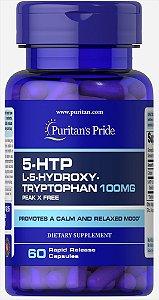 5-HTP 100 mg (Griffonia Simplicifolia)| 60 Cápsulas - Puritan