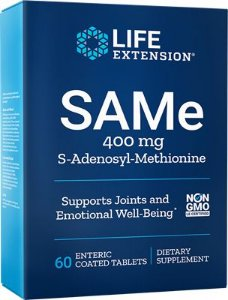 SAMe 400mg (S-Adenosyl-Methionine) | 60 Tablets - Life Extension