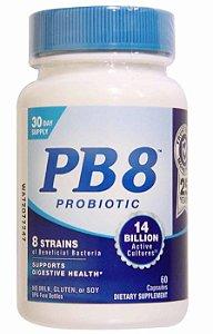 Probiótico PB8 14 Bilhões | 60 Cápsulas - Nutrition Now