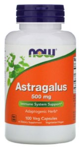 Astragalus 500mg | 100 Cápsulas - Now