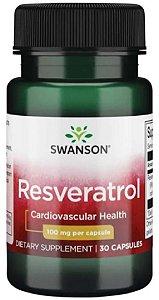 Resveratrol 100mg  | 30 cápsulas - Swanson Ultra