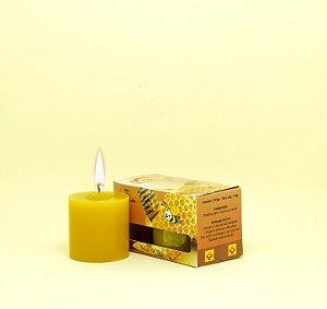 Kit com 2 Velas Amarelas de Mel