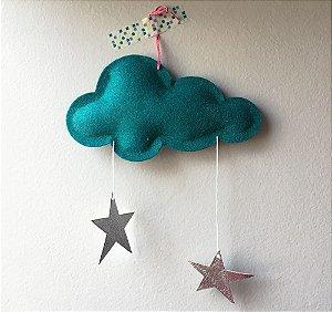 Mini Nuvem Star Dark Turquoise
