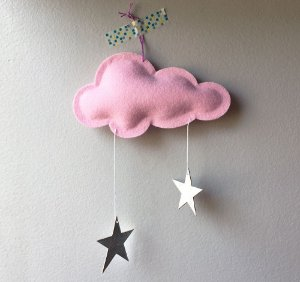 Mini Nuvem Star Pink