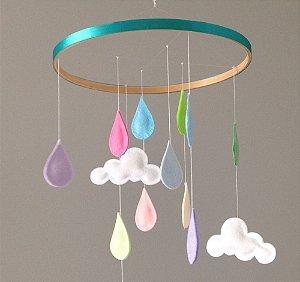 Rain Pastel Turquesa
