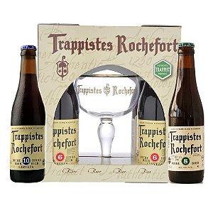 Kit Rochefort 4 gaf + 1 taça