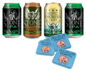 Kit Cervejas Stones