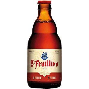 Cerveja Belga St Feuillien Brune 330ml