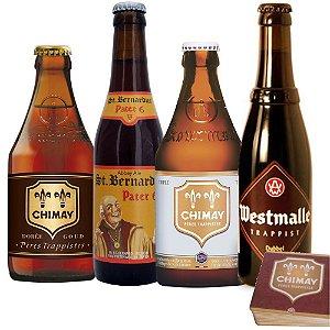 Degustação Cervejas de Abadias Católicas