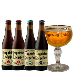 Kit Rochefort 4 gaf + 1 taça