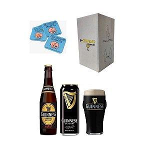 Kit Cervejas Guinness + Pint Guinness