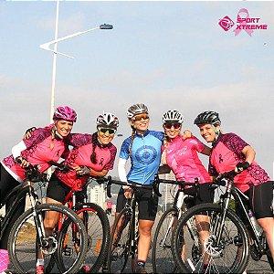 Camisa Ciclismo - Outubro Rosa
