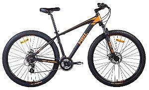 Bicicleta Aro 29 Mountain Bike MBL Alumínio Shimano 24V