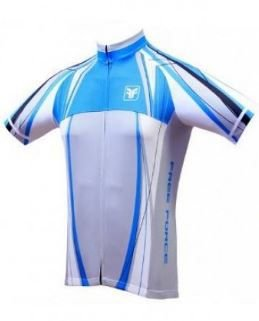 Camisa Free Force Glide Branca/Cinza/Azul - P